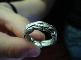 Grass Wrap ring by Slitwalker