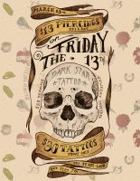March Friday the 13th Sale Poster by blindthistle