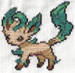 Leafeon by OrlaLil