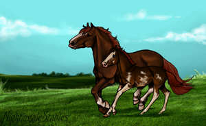 Like Father, Like Son by NightingaleStables