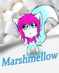 New Character: Marshmellow by RevoltLarzWolfblade