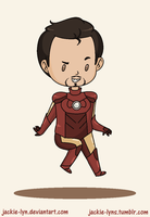 Chibi Iron Man by Jackie-lyn