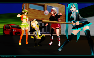 MMD THIS IS NOT BASEBALL! by Trackdancer