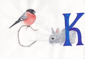 This is K y S in russin alphabet by elizavetta
