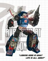 Tracks - BotCon print by wordmongerer