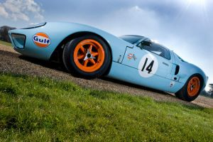 Ford GT40 by adamduckworth