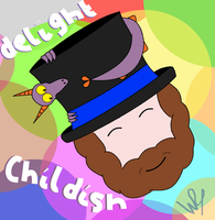 Dash of Childish Delight by wilterdrose