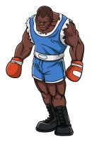 Street Fight 4 - BALROG by taves