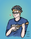 Patrick... but with a ukulele by notbadrae