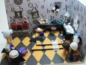 Mad Hatter's Workroom (FINISHED) by *SmallCreationsByMel