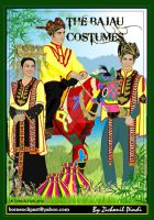 The Bajau Costumes by zichonilpindi