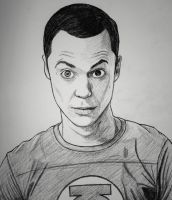 Dr. Sheldon Cooper by Anghellic67