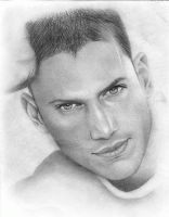 Wentworth Miller by bloodyiris