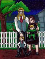 Elric Family Portrait by Alphonse--Elric