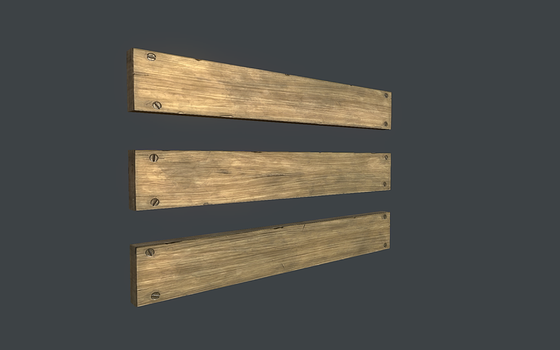 Planks of Wood Textured by dudealan2001