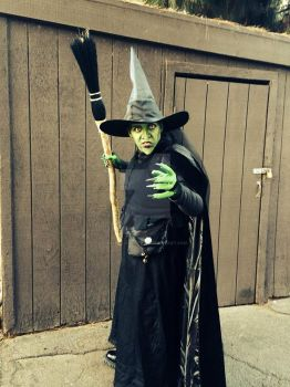 Wicked Witch of the West by Sylent-Fantome