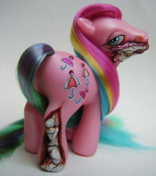 OOAK Custom Umbrella Pony by eponyart