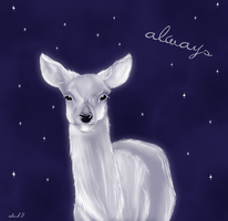 Patronus - doe by Alis15