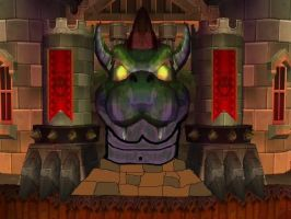 Bowser's Castle is Now Closed by Grim-of-An-Artist
