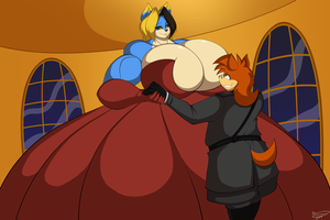 Commission - Ballroom dance by XSuperiX