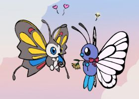 Butterfree Heart Beautifly by sunnyfish