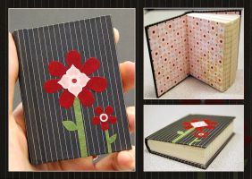 Flower Pocket Journal by funkmaster-c
