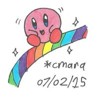 Kirby and the rainbow curse by cmara