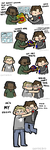 Bucky Makes Friends by geothebio
