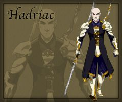Hadriac the General by ArofaTamahn