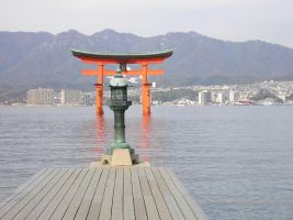 Itsukushima shrine3 by kaz0885