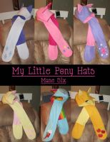 MLP Pony Hats by Enocia