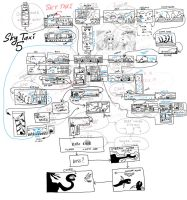 SPOILER Sky Taxi 5 test sketch concept map by alexmakovsky