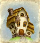 Fairy-tale house by Sundra-Art