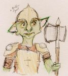 Goblin Palace guard by TypicalWatson