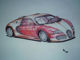 CAR (drawing) by AlexandraDart