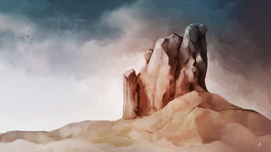 Landscape Study by chadlindall