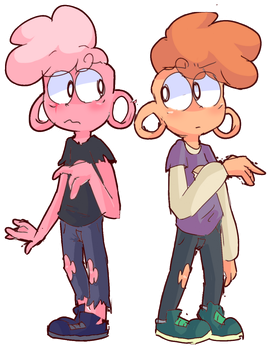 Lars and Pink Lars by mabill2001
