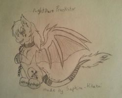 Art Trade with Scarlet. (Part 1) by BlackFlamePegasus