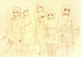OCs during years... by Samr0iD