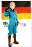 Hetalia Axis Powers Germany Cosplay by miccostumes