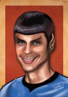 Sheldon Spock by ismaelArt