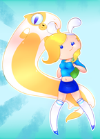 Fionna and Cake! by CrispyCreme