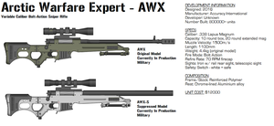 Accuracy International AWX by GrimReaper64
