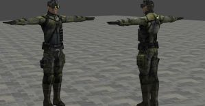SCPT SAM FISHER OUTFIT 2 ORIGINAL BONES by Oo-FiL-oO