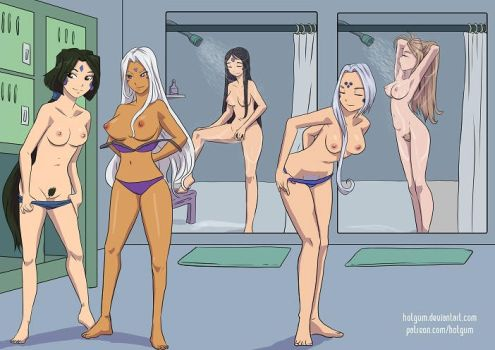 Locker Room Goddesses - Copy by HotGum