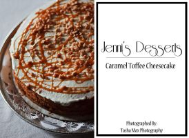 Carmel Toffee Cheesecake by Project-Pestilence