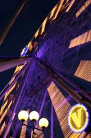 Ferris wheel 2 by roaldfre