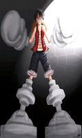 Champion Luffy by YveS11