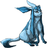 Glaceon by Frost-Vixen