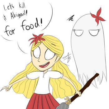 everytime i ran out of food (as wendy) by xXaldabutterXx